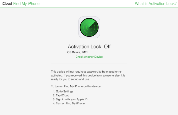 Apple-activation-lock-status-tool