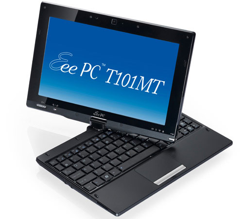 asus eee pc T101MT Asus Eee PC T101MT Netbook With Swivel Touchscreen Unveiled