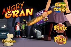 Angry Gran 300x200 200 Top Free iPad Games 2014