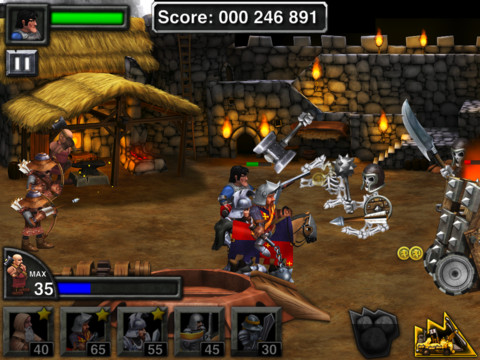 Army of Darkness Defense HD 210 Top Free iPad Games 2014