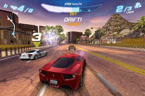 Asphalt6 Adrenaline 210 Top Free iPad Games 2014