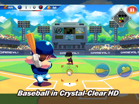 Baseball Superstars 2012 210 Top Free iPad Games 2014