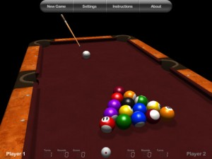 Billiards HD 300x225 200 Free Cool iPad Games You Should All Download Right Away