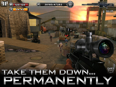 Contract Killer 210 Top Free iPad Games 2014