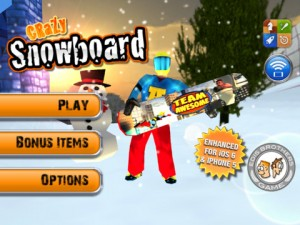 Crazy Snowboard 300x225 200 Top Free iPad Games 2014