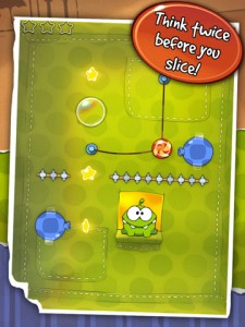 Cut The Rope 225x300 200 Top Free iPad Games 2014