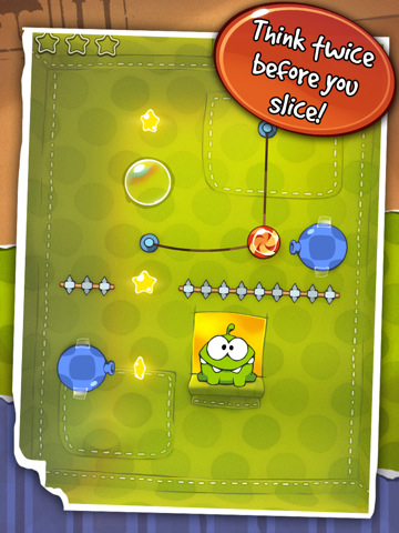 Cut The Rope 210 Top Free iPad Games 2014