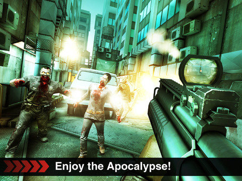 DEAD TRIGGER 210 Top Free iPad Games 2014
