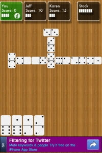 Dominoes 210 Top Free iPad Games 2014