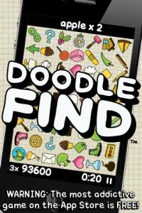 Doodle Find 210 Top Free iPad Games 2014