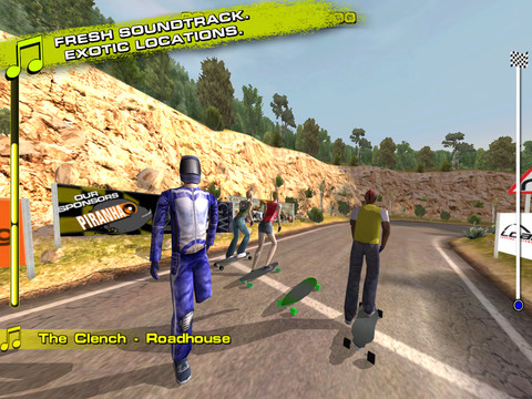 Downhill Xtreme 210 Top Free iPad Games 2014