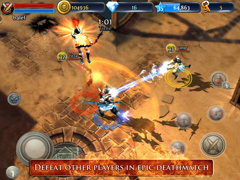 Dungeon Hunter 3 210 Top Free iPad Games 2014