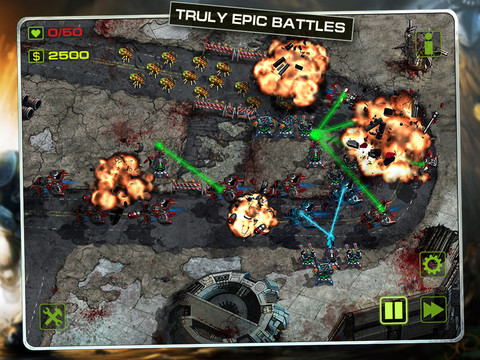 Epic War TD 210 Top Free iPad Games 2014