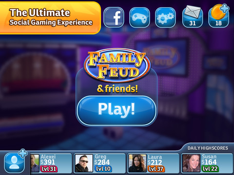Family Feud 210 Top Free iPad Games 2014
