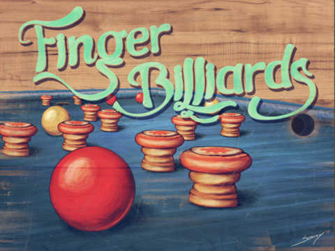Finger-Billiards
