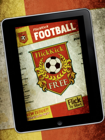 Flick Kick Football1 210 Top Free iPad Games 2014