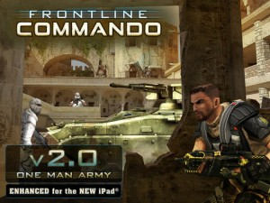 Frontline Commando 300x225 200 Free Cool iPad Games You Should All Download Right Away