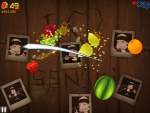 Fruit Ninja HD 300x225 200 Top Free iPad Games 2014