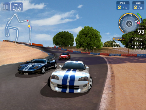 GT Racing Motor Academy 210 Top Free iPad Games 2014
