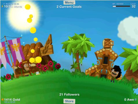 GodFinger 210 Top Free iPad Games 2014
