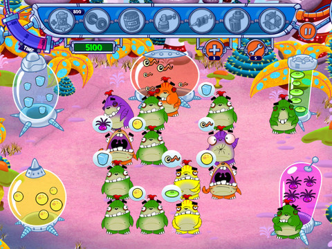 Greedy Monsters 210 Top Free iPad Games 2014
