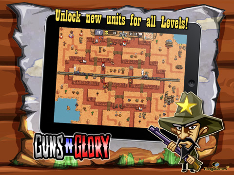 GunsnGlory 210 Top Free iPad Games 2014
