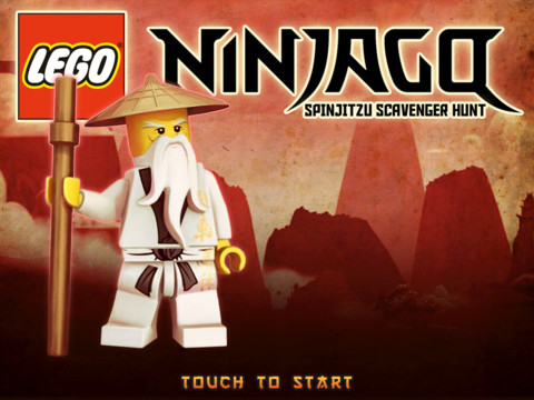 LEGO Ninjago Spinjitzu Scavenger Hunt 210 Top Free iPad Games 2014