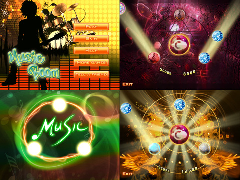 Music Boom HD 210 Top Free iPad Games 2014