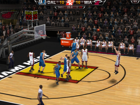 NBA 2K12 210 Top Free iPad Games 2014