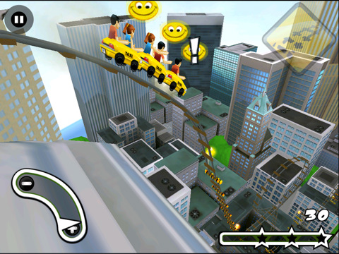 New York 3D Rollercoaster Rush 210 Top Free iPad Games 2014