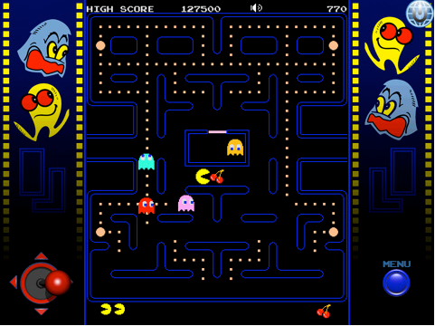 Pac Man Light 210 Top Free iPad Games 2014