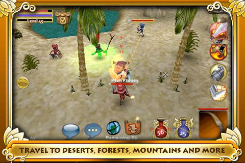 Pocket Legends 210 Top Free iPad Games 2014