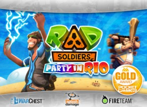 RAD Soldiers 300x219 200 Top Free iPad Games 2014