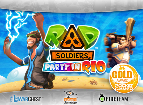 RAD Soldiers 210 Top Free iPad Games 2014