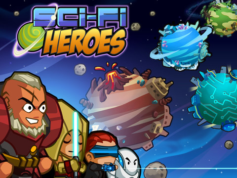 Sci Fi Heroes 210 Top Free iPad Games 2014