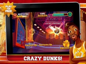Slam Dunk King 300x225 28 Free Cool iPad Games You Should All Download Right Away