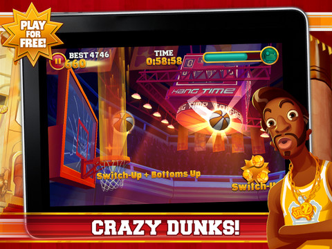 Slam Dunk King 210 Top Free iPad Games 2014
