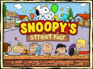 Snoopy Street Fair 300x225 200 Top Free iPad Games 2014