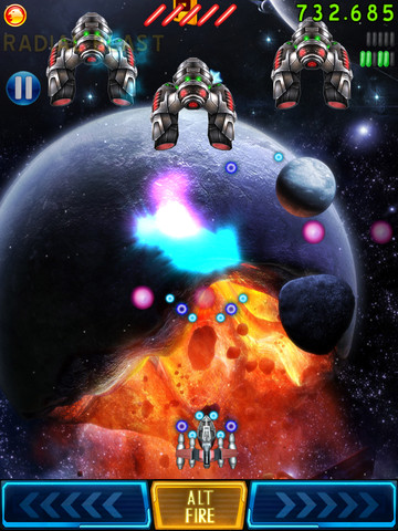 Space Falcon Reloaded 210 Top Free iPad Games 2014