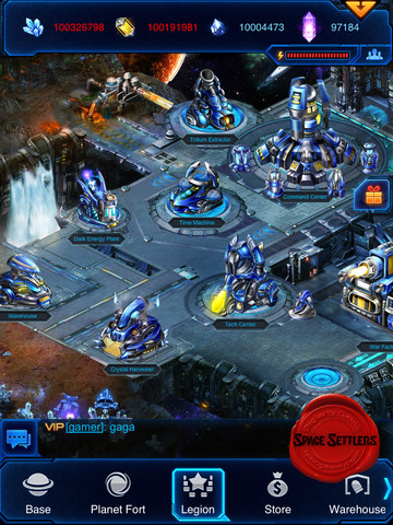 Space Settlers 210 Top Free iPad Games 2014