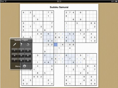 Sudoku 210 Top Free iPad Games 2014
