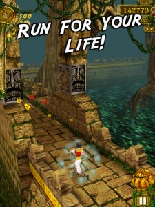 Temple Run 225x300 200 Free Cool iPad Games You Should All Download Right Away