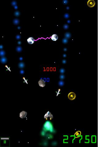 Teragati Rocks in Space1 210 Top Free iPad Games 2014