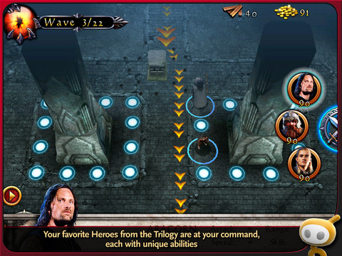 The Lord of the Rings 210 Top Free iPad Games 2014