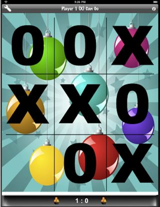 Tic Tac Toe 210 Top Free iPad Games 2014