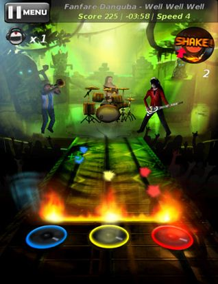 Tunes Attack 210 Top Free iPad Games 2014