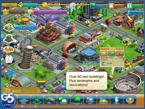 Virtual City Playground HD 210 Top Free iPad Games 2014