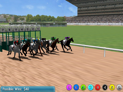 Virtual Horse Racing 3D 210 Top Free iPad Games 2014