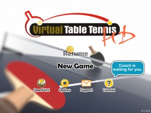 Virtual Table Tennis HD 300x225 200 Top Free iPad Games 2014