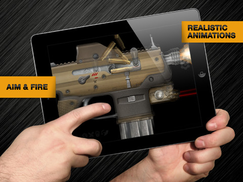 Weaphones Firearms Simulator 210 Top Free iPad Games 2014